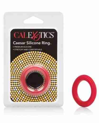 Adonis Caesar Silicone Ring - Red