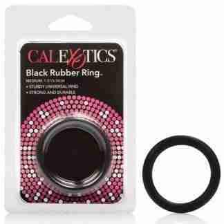 Black Rubber Ring - Medium