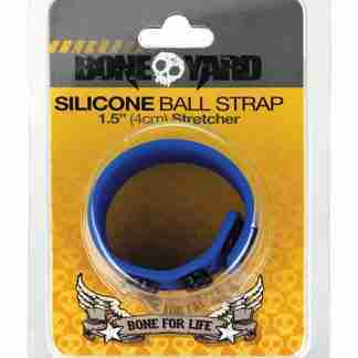Boneyard Ball Strap - Blue