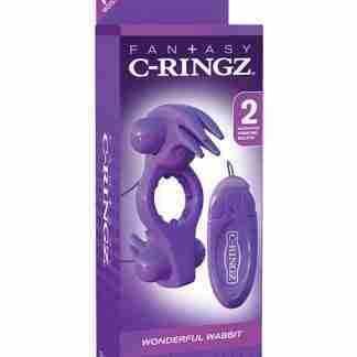 Fantasy C-Ringz Wonderful Wabbit w/Remote - Purple