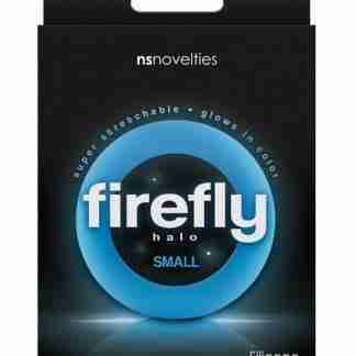 Firefly Halo Small Cockring - Blue