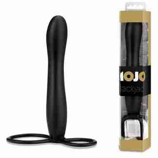 Mojo Black Jack Silicone Strap On - Black
