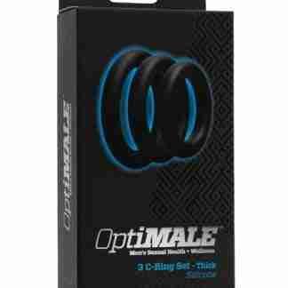 OptiMale C Ring Kit Thick - Black