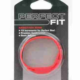 Perfect Fit Speed Shift 17 Adjustments Cock Ring - Red