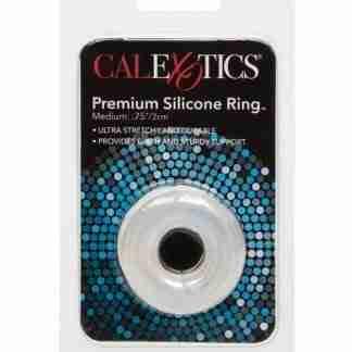 Premium Silicone Ring - Medium Clear