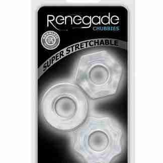 Renegade Chubbies 3 pack - Clear