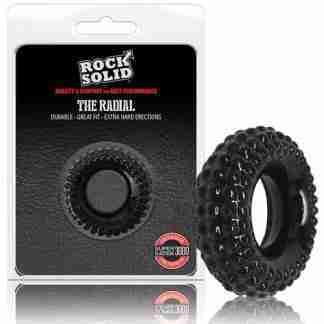 Rock Solid Radial Cockring - Black