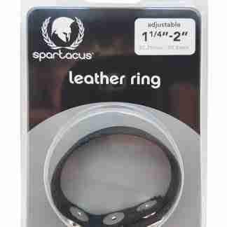 Spartacus Plain Leather C-Ring