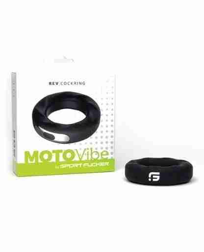 Sport Fucker Motovibe Rev Cockring 52 mm - Black