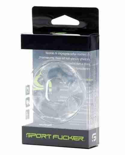 Sport Fucker Revolution Ring - Clear