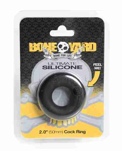 Boneyard Ultimate Silicone Ring - Black