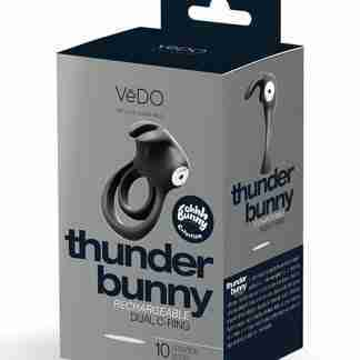 VeDO Thunder Rechargeable Dual Ring - Just Black