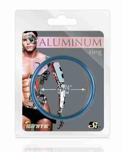 """Aluminum Ring - Cobalt Blue 2.25"""""""