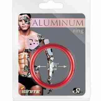 """Aluminum Ring - Hellfire Red 1.75"""""""