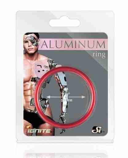 """Aluminum Ring - Hellfire Red 2"""""""
