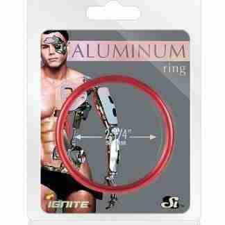 """Aluminum Ring - Hellfire Red 2.25"""""""