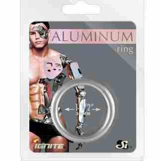 """Aluminum Ring - Platinum 1.5"""""""
