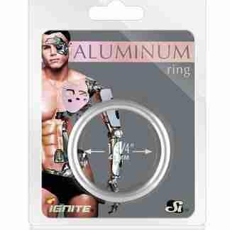 """Aluminum Ring - Platinum 1.75"""""""