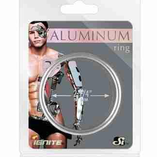 """Aluminum Ring - Platinum 2.25"""""""