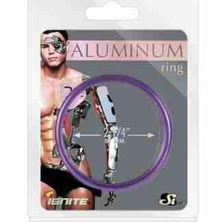 """Aluminum Ring - Royal Purple 1.5"""""""