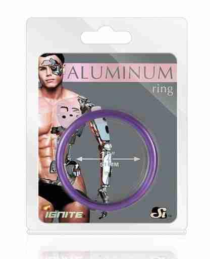 """Aluminum Ring - Royal Purple 2"""""""