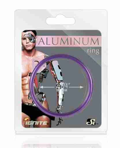 """Aluminum Ring - Royal Purple 2.25"""""""