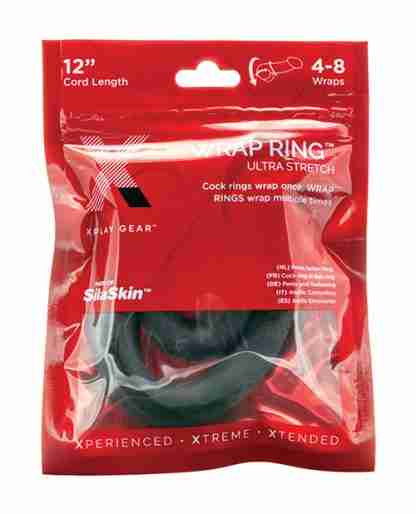 "Xplay Gear 12"" Ultra Wrap Ring - Black"